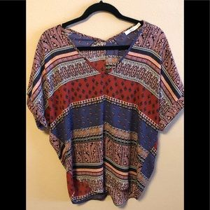 Multi Colored Lush Brand Blouse